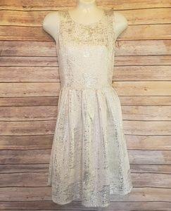 🆕️Worthington Ivory Silver Dress Size 6🆕️